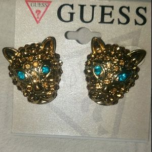 NWT GUESS Bling Earrings